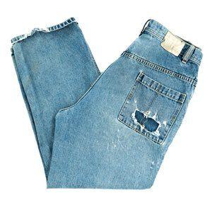 Ecko Unlimited Men's Jeans Baggy Destructed 36x29